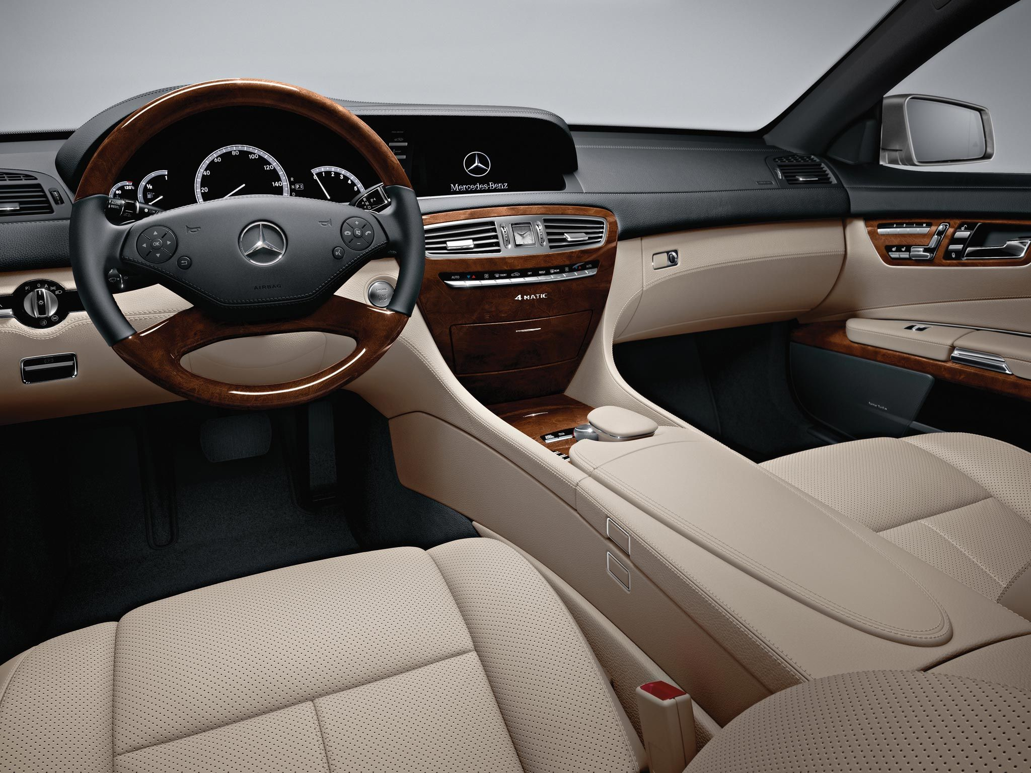 Mercedes Benz Cl550 4matic With Sahara Beige Black Premium Leather