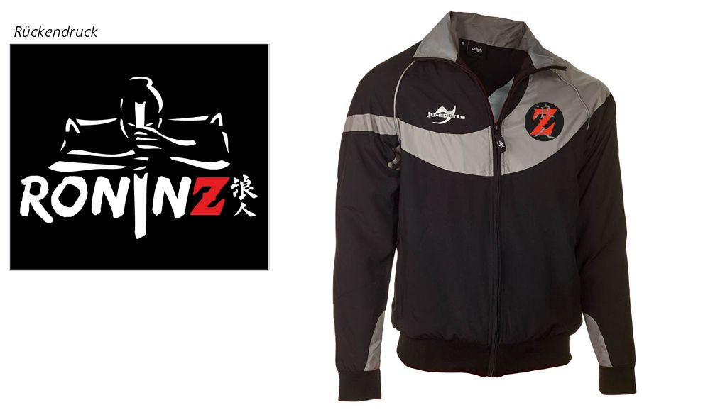 Teamwear Element C1 Jacke schwarz RoninZ Edition