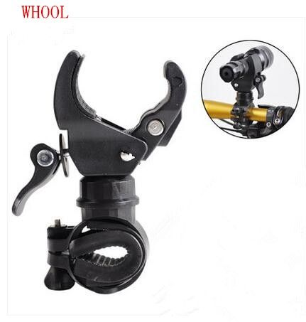 Plastic Mountain Bicycle Bike Flashlight Torch Holder Clip Bike Mount Clamp Tool