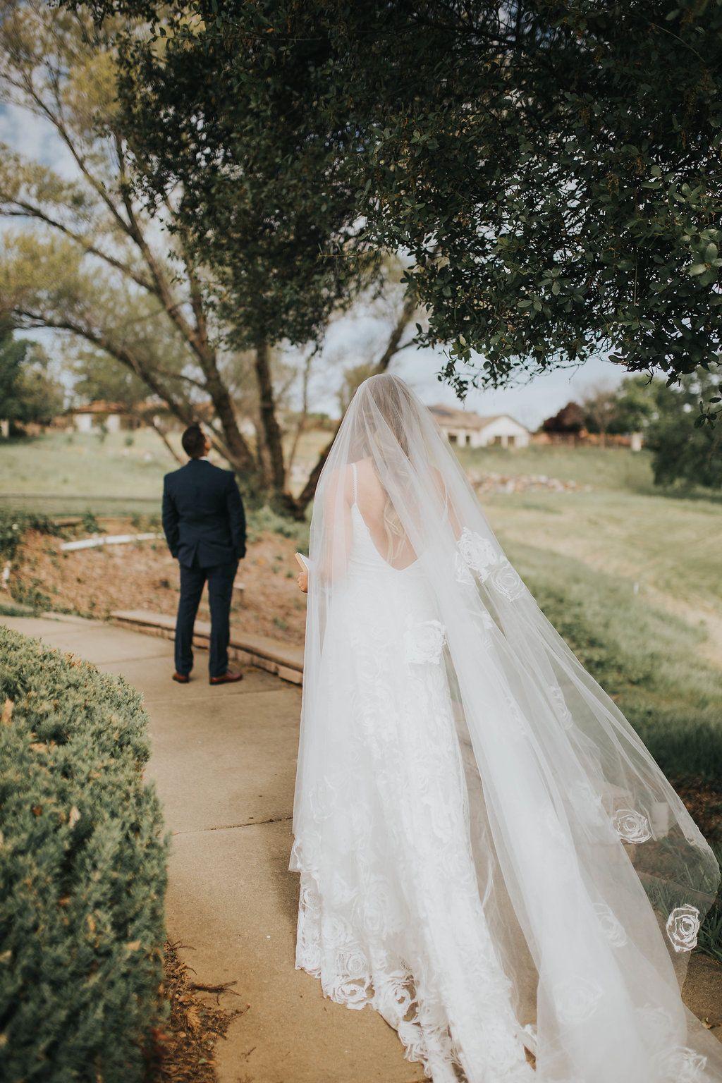 Fleur wedding dress  Oksana in the Rosa Gown u Fleur Veil  Wedding Vibes  Pinterest