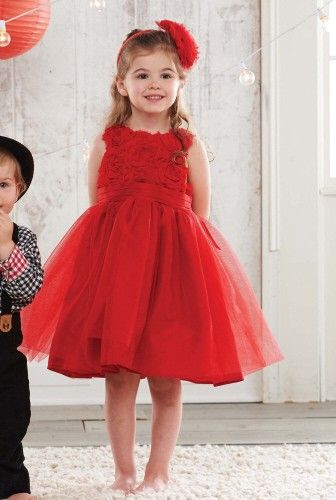 hitapr.com red girls dress (05) #reddresses | Dresses & Skirts ...