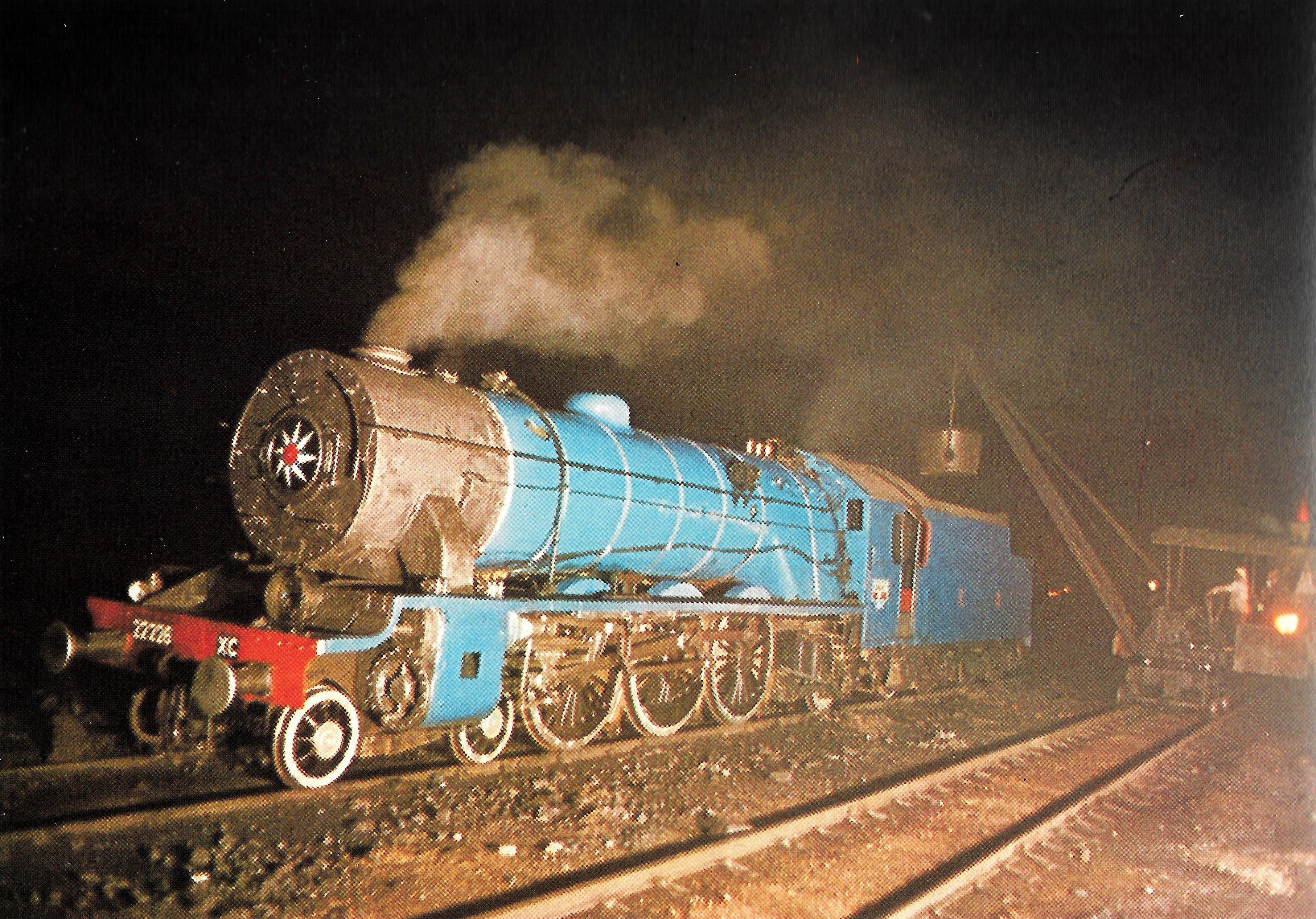 XC Class 4-6-2 steam locomotive India 1979  Colin Garatt