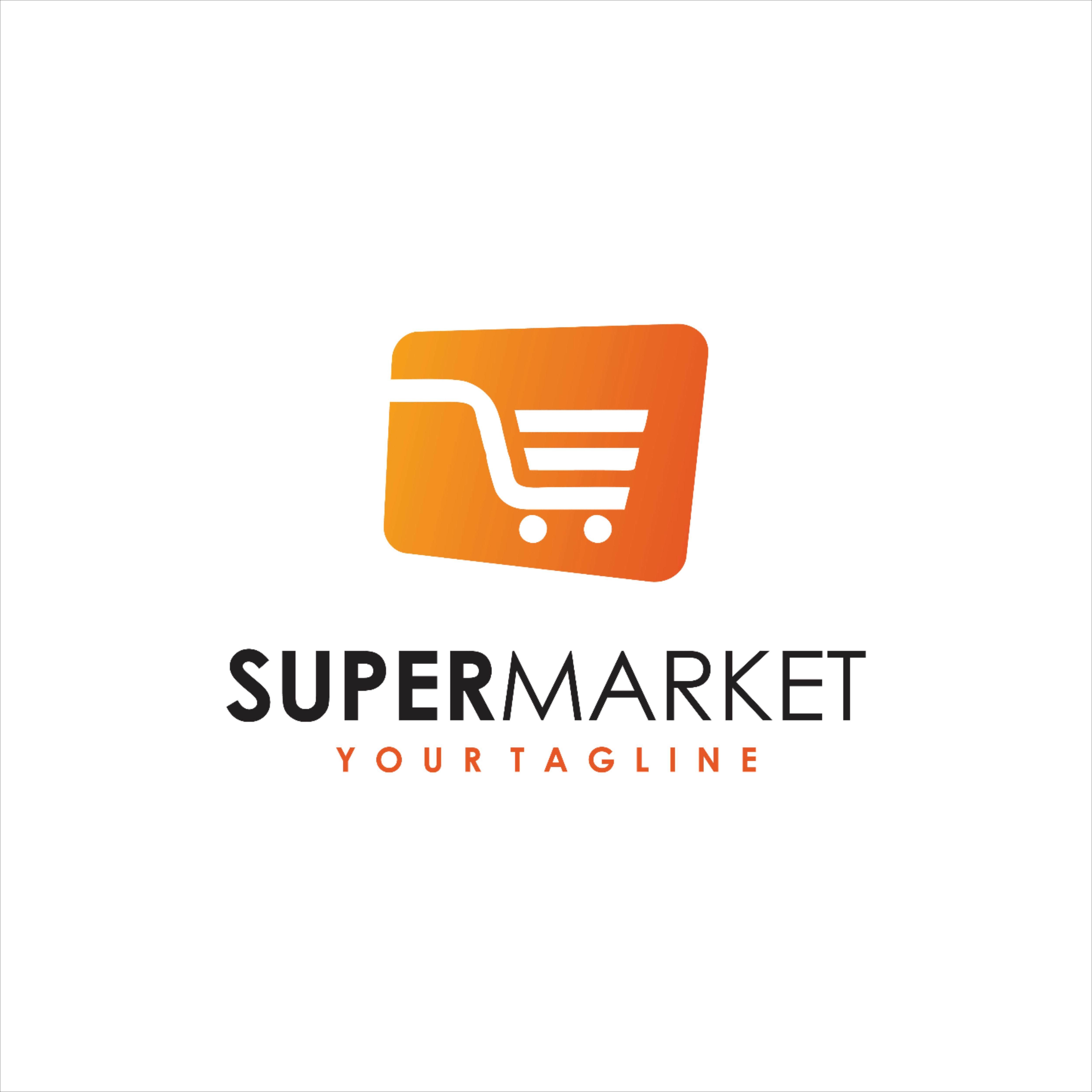 Super Market Logo And Market Check In 2020 Minimalist Logo Logos Stock Images Free