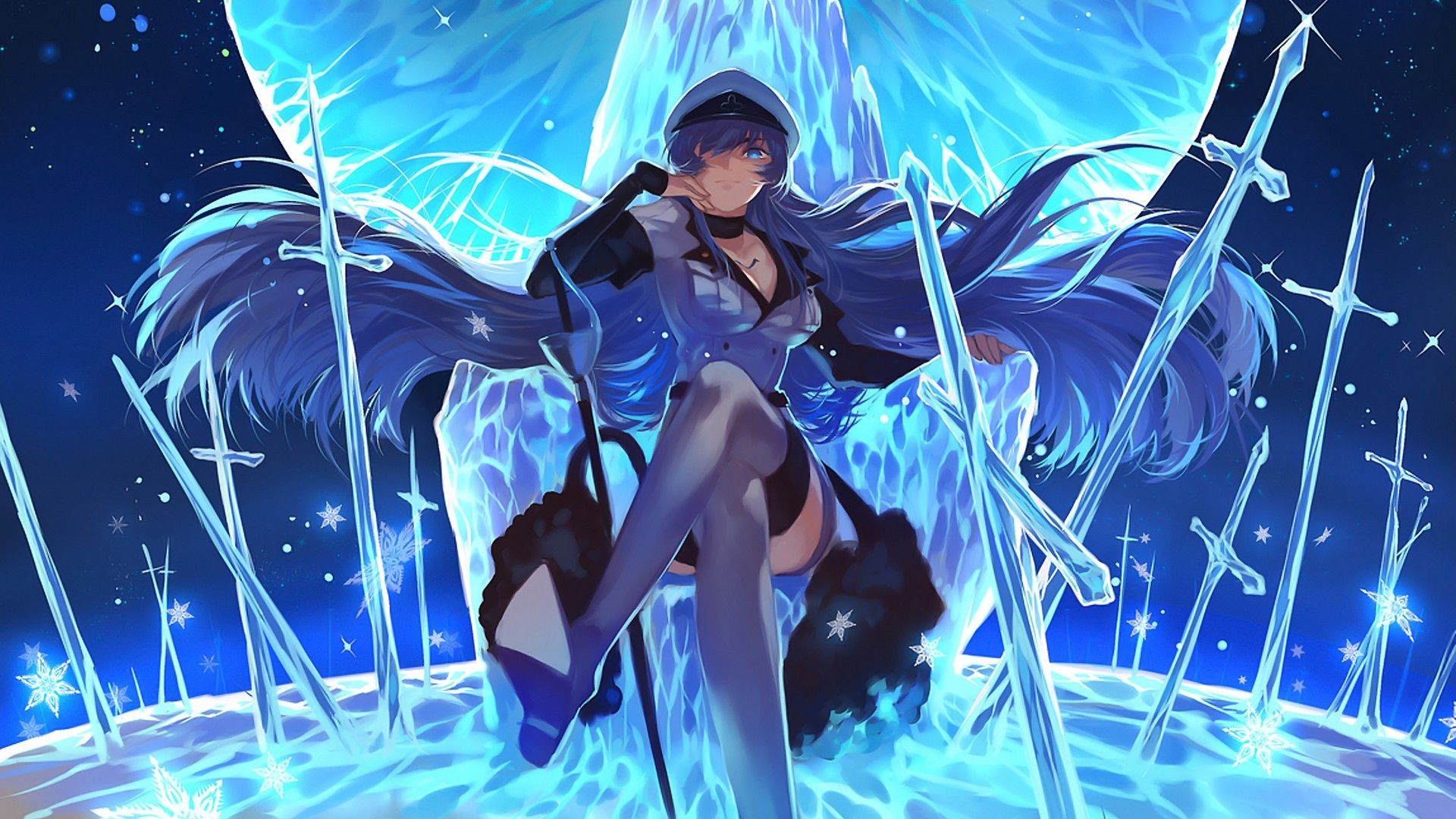 Anime Anime Girls Akame Ga Kill Esdeath Wallpapers Hd