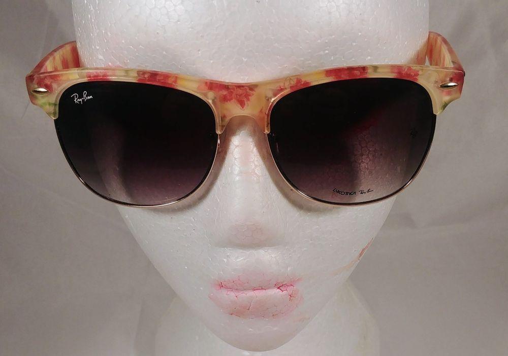 06130f88f0 Ray Ban Wayfarer Rare Print edition Floral Pink Yellow Women s Sunglasses   RayBan  Rectangular
