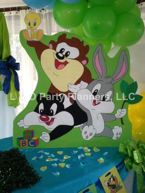 Baby Looney Tunes Baby Shower Party Ideas   Photo 6 Of 34