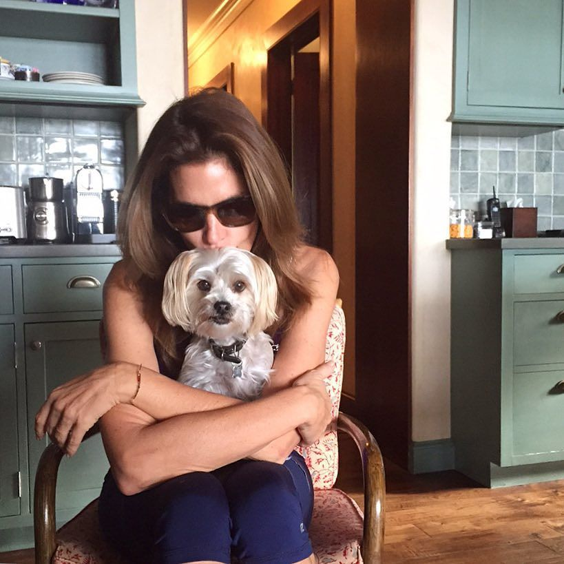 Loving my time at home before hitting the road again. Kisses for Widget! by cindycrawford