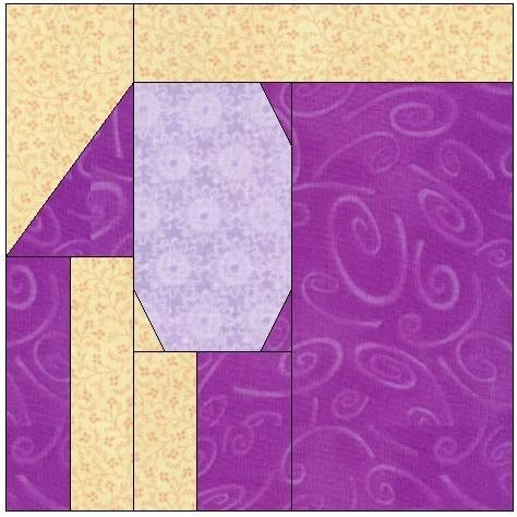 Elephant Paper Piecing Quilt Block Pattern 099A   eBay $6 free shipping