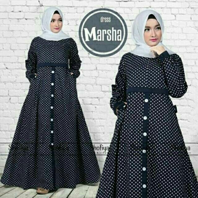Saya Menjual Gamis Katun Jepang Marsha Seharga Rp190 000 Dapatkan Produk Ini Hanya Di Shopee Https Shopee Model Pakaian Muslim Pakaian Wanita Model Pakaian
