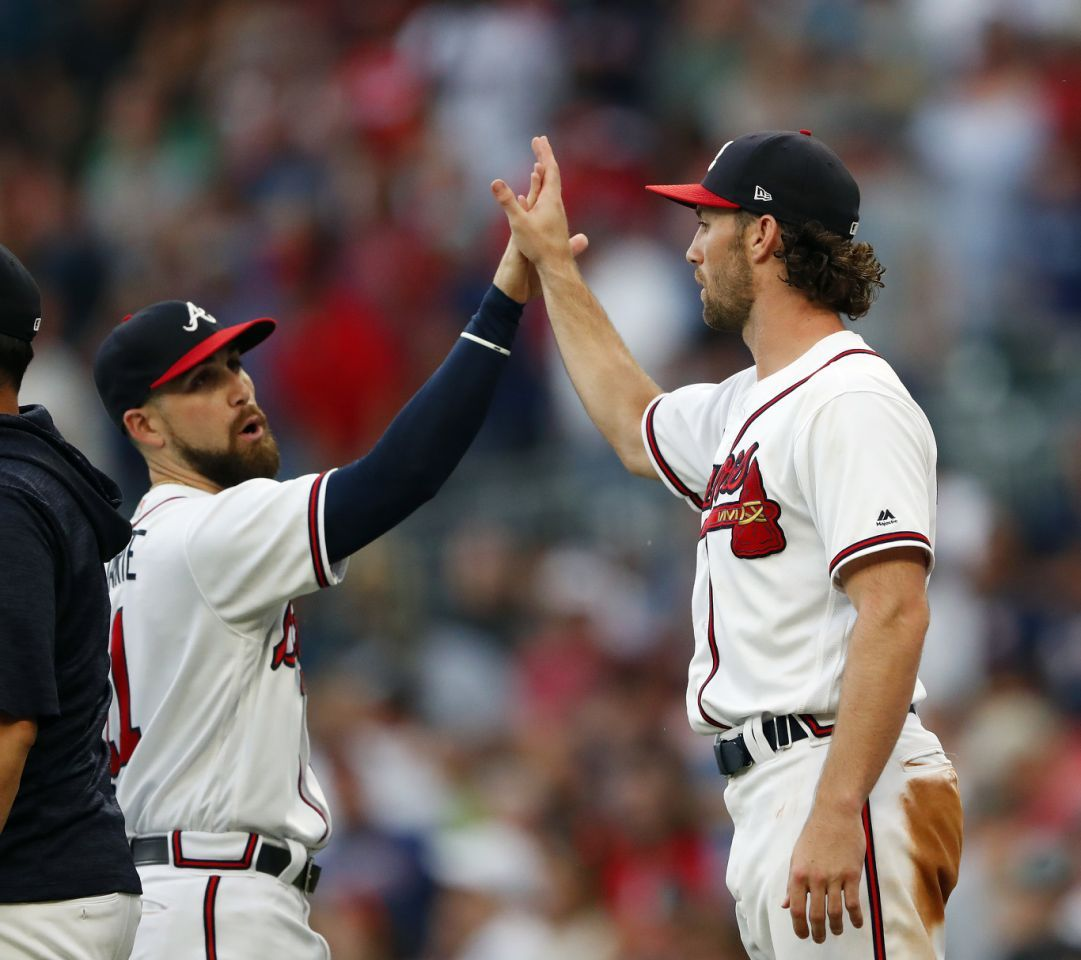 Newcomb Culberson Power Braves Past Padres 1 0 Braves Atlanta Braves Padres
