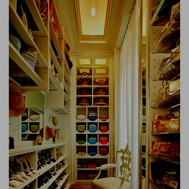Large And Narrow Closet With Plenty Of Space For Shoes; Iu0027d Love A Nice Big  Closet With Organization Like This For My Shoes. Then I Could Buy More Shoes !