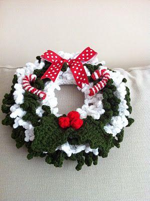 23 Coronas para Navidad Maravillosas ✨ | Crochet christmas ... | 400x299