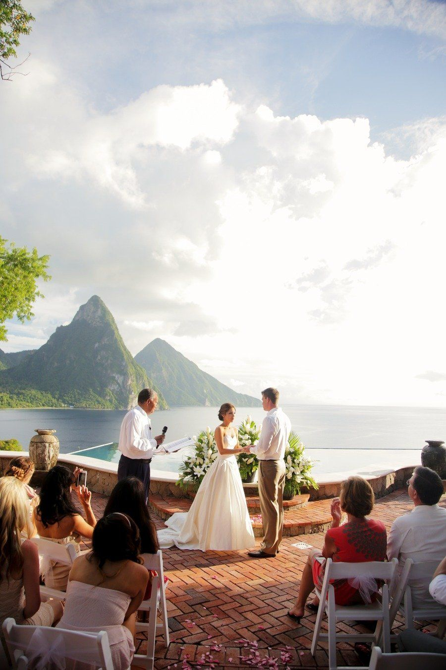 new england wedding venues on budget%0A St  Lucia Wedding from Gideon Photography