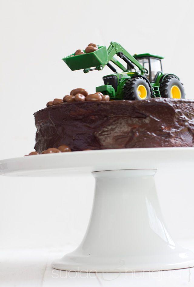Traktorikakku. Suolaa ja hunajaa -blogi.