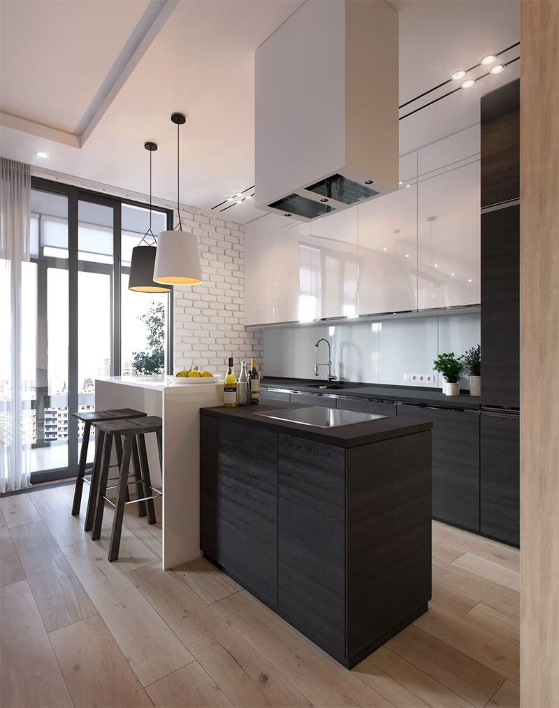 Cozinha Americana Apartamento Moderno Oppenau Info