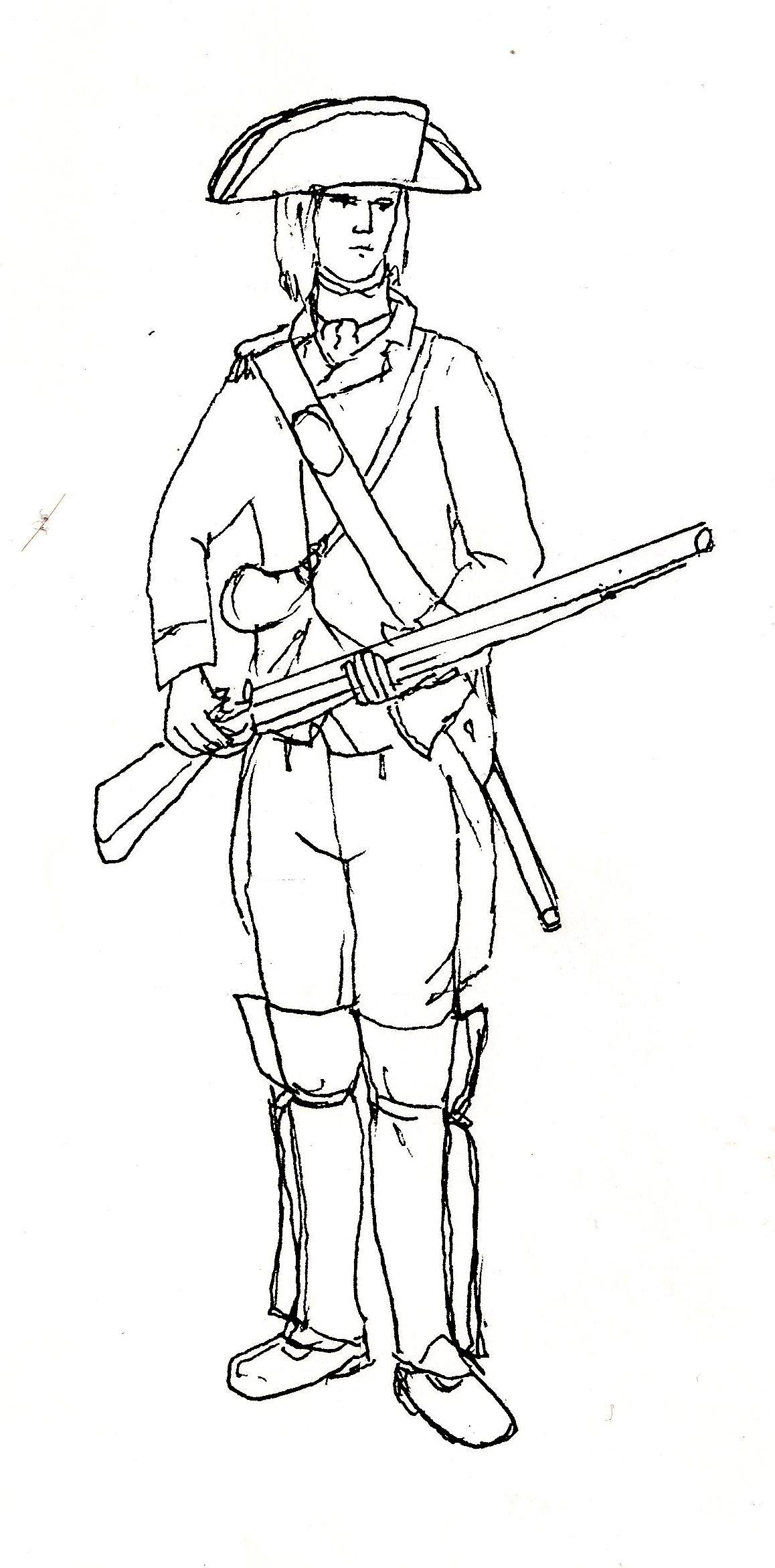 Redcoat officer American Revolution
