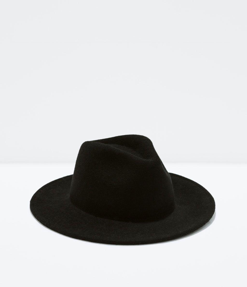 4305b8ebd3fc4 CHAPEAU FEUTRE BORD LARGE-Casquettes et bonnets-Accessoires-HOMME ...