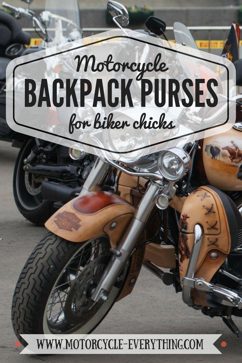 3bb0b4dcdaf Ultimate Ladies Backpack Purses for Cool Biker Chicks | Motorcycles ...