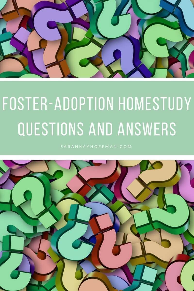 Our Third Home Study Foster Adoption