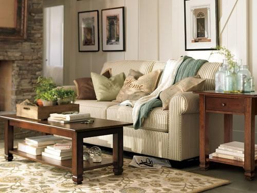 Farmhouse Living Room | Rooms We Can Live In! | Pinterest | Muebles ...