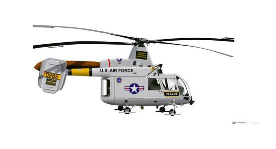 Kaman HH-43 Huskie Modeler's Online Reference