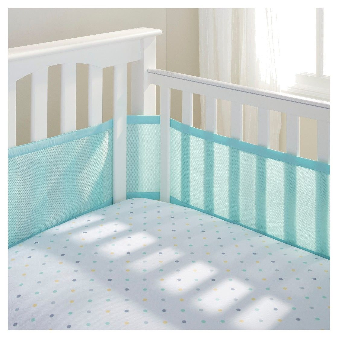 Breathablebaby Classic Breathable Mesh Crib Liners Crib Liners Cribs Baby Crib Bumpers