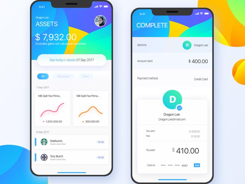 Assets APP Mobile app design inspiration, Mobile app