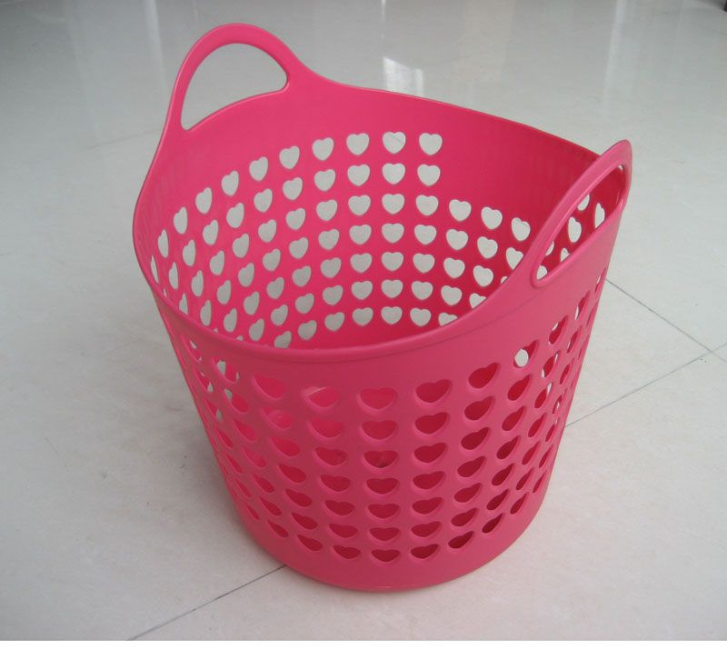 Pink Plastic Laundry Basket Mesmerizing Plastic Laundry Baskets  Plastic Laundry Basket Mb001  Want Design Ideas
