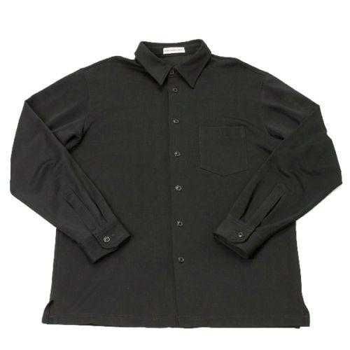 ISSEYMIYAKE MEN cotton poly long sleeved shirt Size L(K-20932)