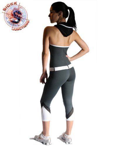 0674448ad56a2 Brazilian Fitness Wear Workout Clothing  Hood Jumpsuit