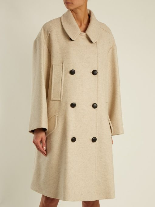 Free Shipping Sneakernews Cheap Sale Geniue Stockist Isabel Marant Étoile Flicka double breasted coat Largest Supplier Sale Online IvGW3y