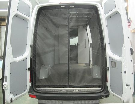 Sprinter Rear Door Screen Kit 2001 2015 Chassis High