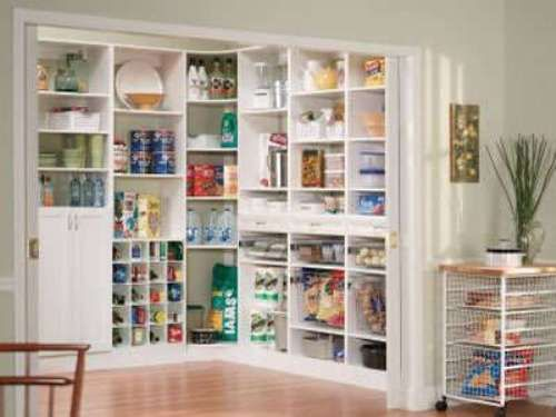 Walk In Pantry Shelving Systems Kitchen Cabinets Pinterest