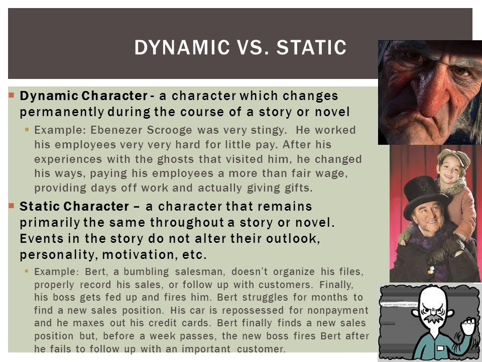 This Pin Tells The Difference Between Dynamic And Static Characters