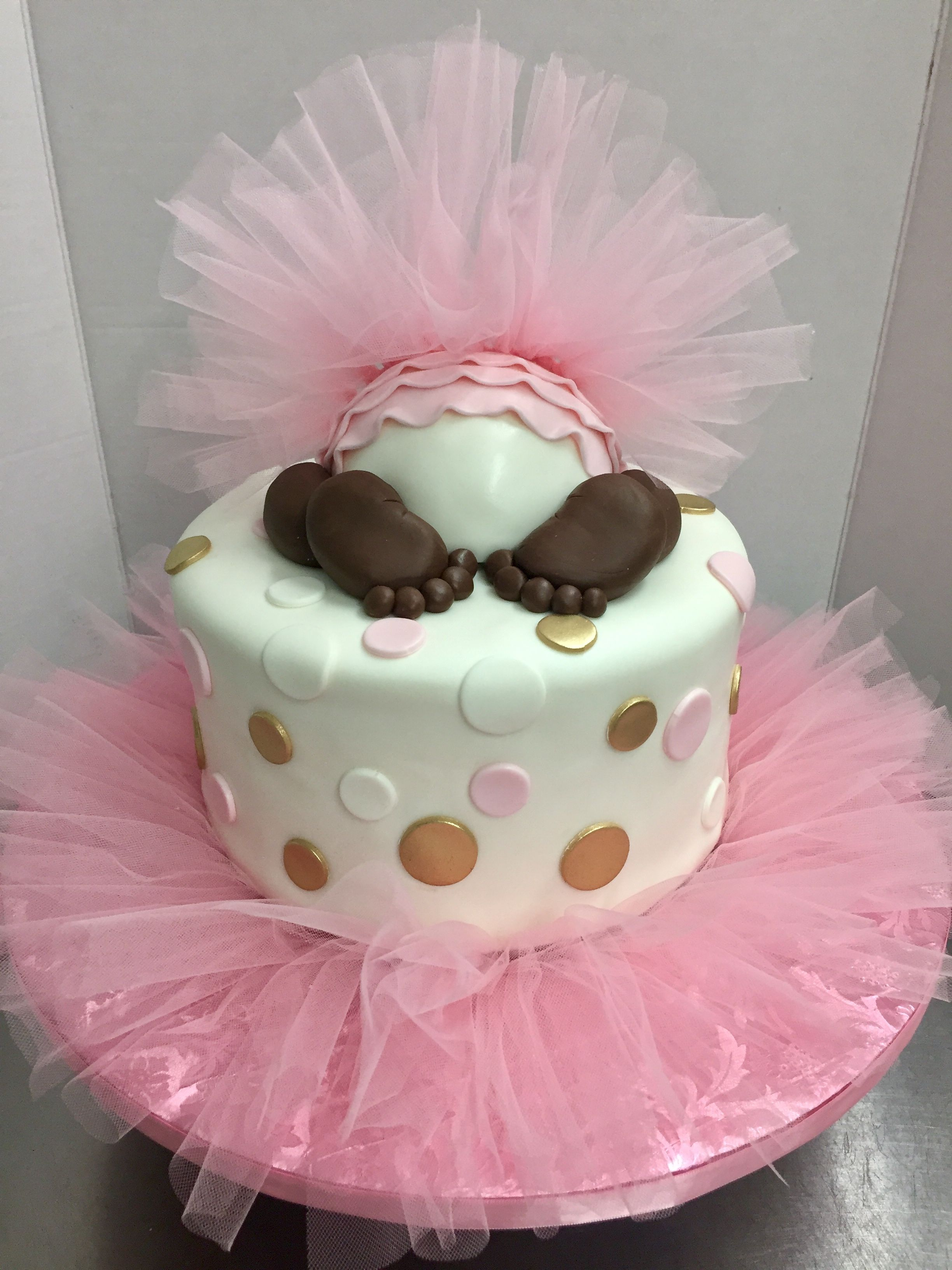 Tutu Baby Butt Cake | Cakes by Lauren at Alessi Bakery | Cakes by ...