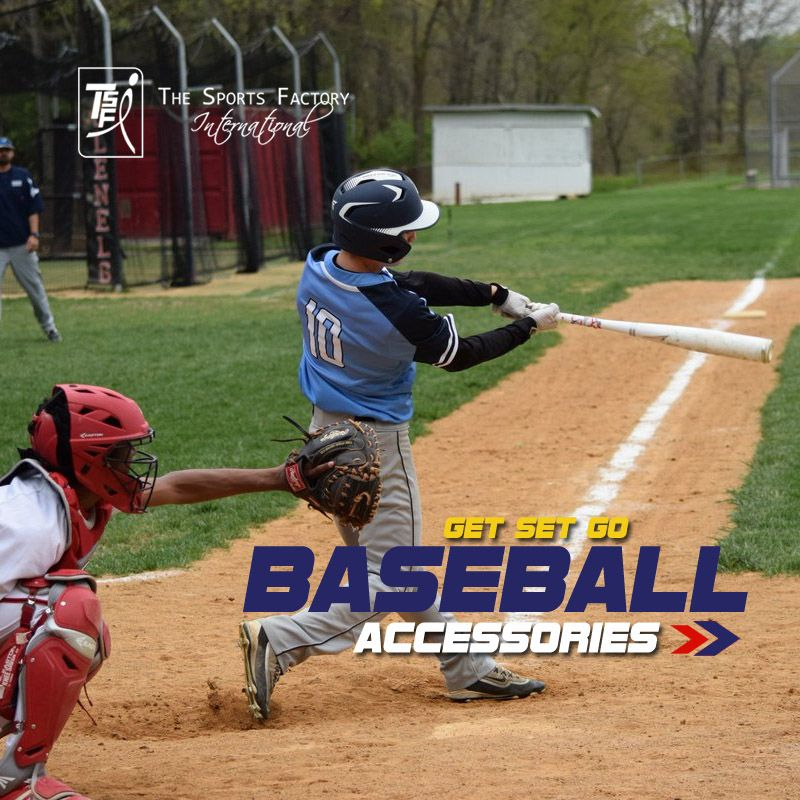 #SPORTSGOODSMANUFACTURER  Looking for #BASEBALLACCESSORIES! Contact #TSFI through email or phone to mention your requirement or log onto our website www.tsf-international.com to choose the #BESTSPORTSACCESSORIES keeping your need in mind and place an order for the same to avail at your doorstep.  For more details click: http://tsf-international.com/ or Call us at +91-8006988800
