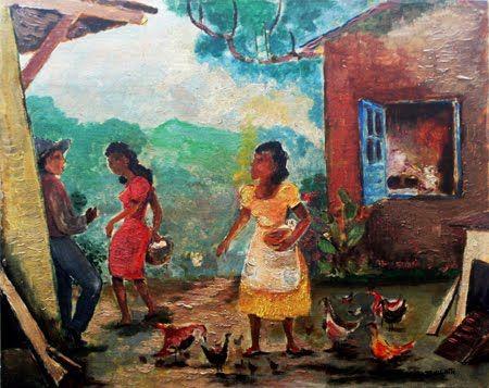 Harvest Oil On Canvas Anita Malfatti Arte Moderna