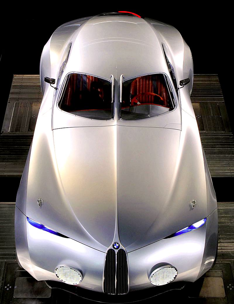 Carsthatnevermadeit — BMW Concept Mille Miglia, 2006. A retro coupe ...