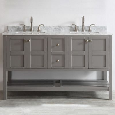 FREE SHIPPING! Shop Wayfair for Vinnova Florence 60 Double Vanity