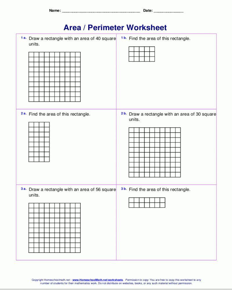 medium resolution of Perimeter Worksheets 3rd Grade   Perimeter worksheets