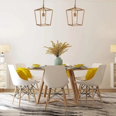 Antique Brass Lantern Pendant Lighting Industrial 1 Light Metal Ceiling Lamp With Hanging Chain In 2020 Metal Ceiling Lamp Lantern Pendant Lighting Brass Lantern