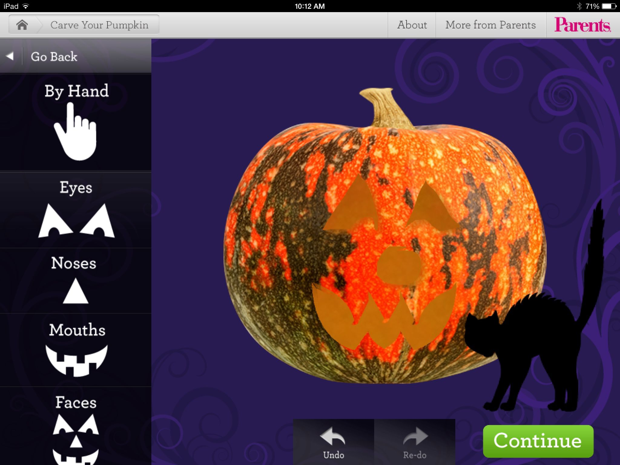 Carve A Pumpkin Apptivities for Fall Carving, School