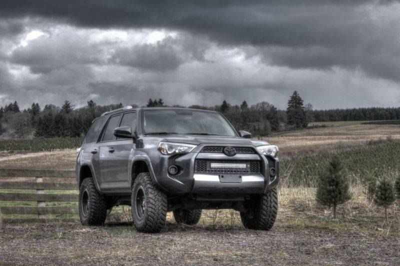 New Rigid grill and light for Gen 5s Toyota 4runner