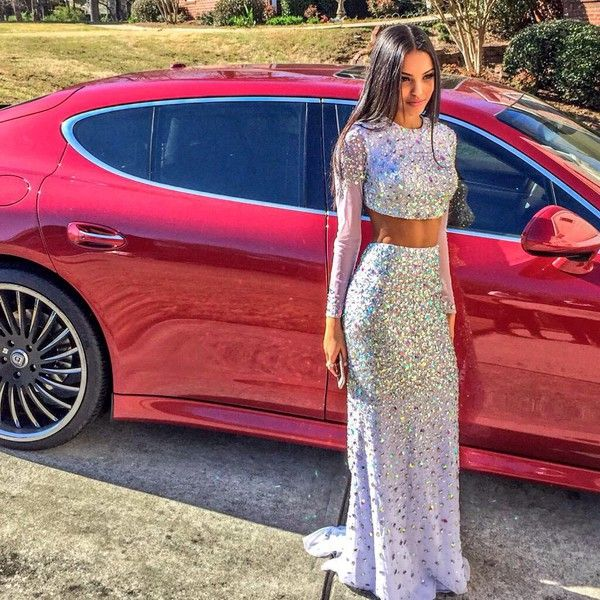 Prom dress used vehicle