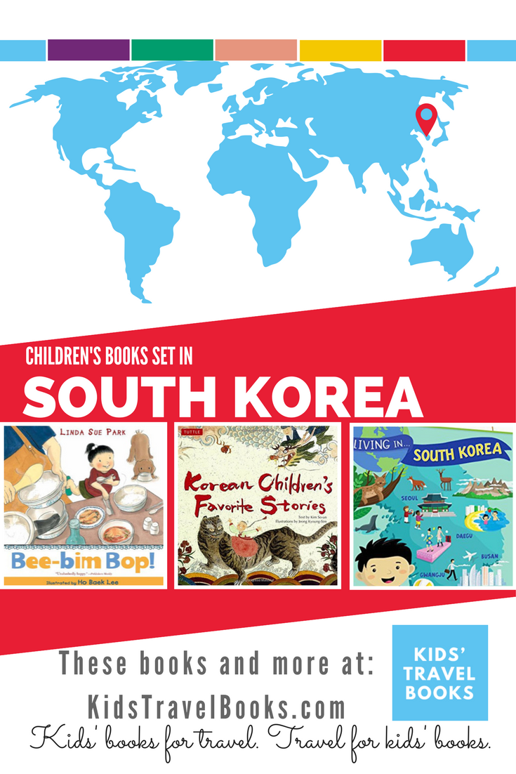 Children's books about South Korea | Books for kids