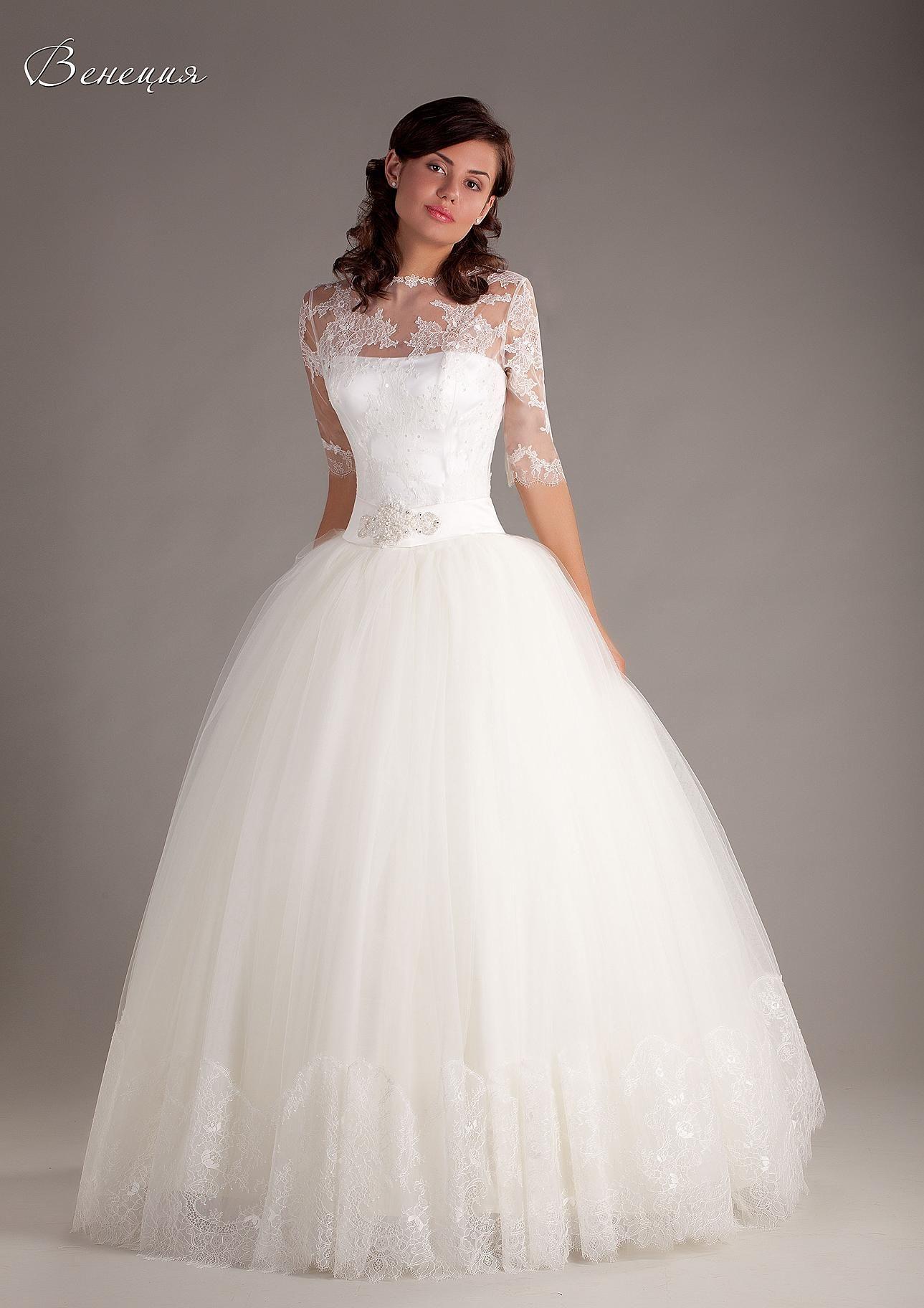 Свадебные платья спб пышные