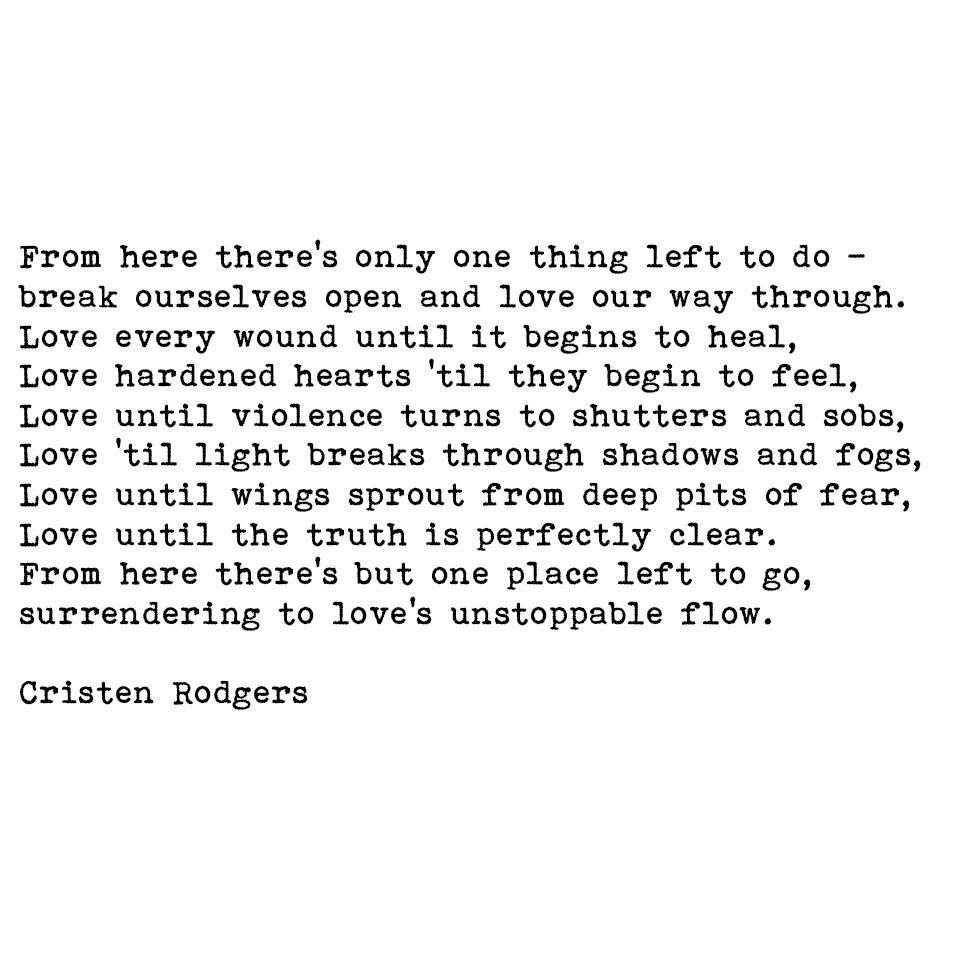 #love #healing #hope #peace #amwriting #spiritual #poetry ...
