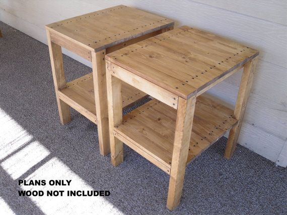 Nice DIY   PLANS To Make   BR End Table Set   Indoor/Outdoor Furniture For Patio  Lawn Or Garden