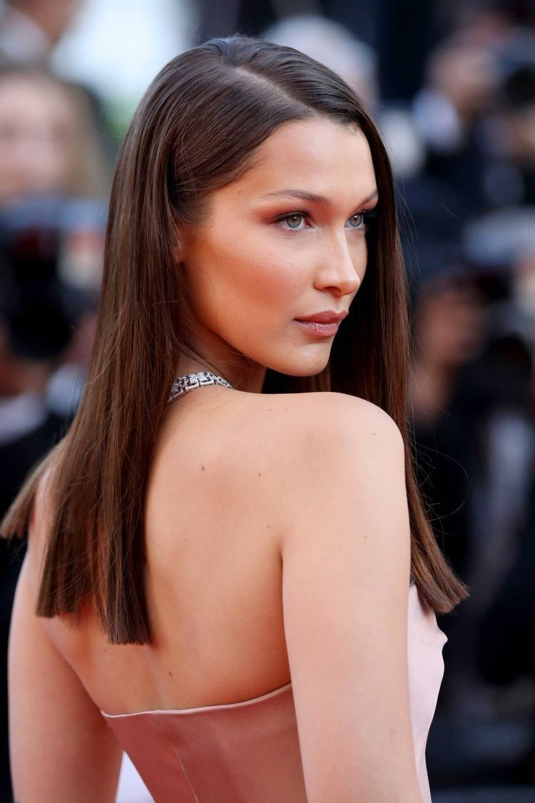 Pin By Amina Mashukova On Models Bella Hadid Hair