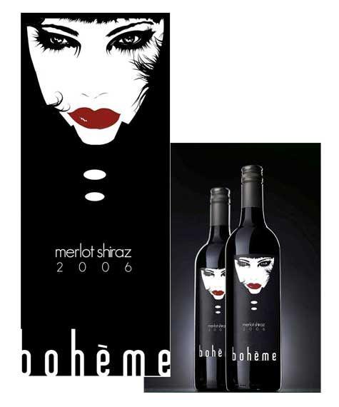 Love this beautiful Bohème wine bottle PD